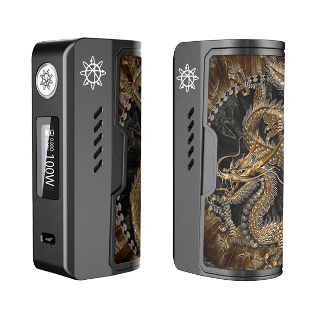Rogue 100 26650 Box Mod by Electroncig & Dovpo