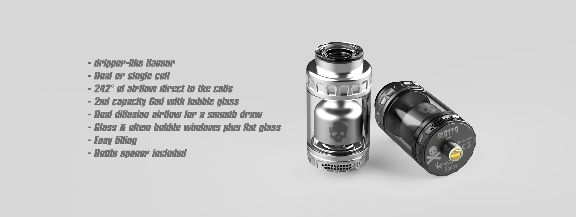 Dovpo Blotto RTA | 2ml