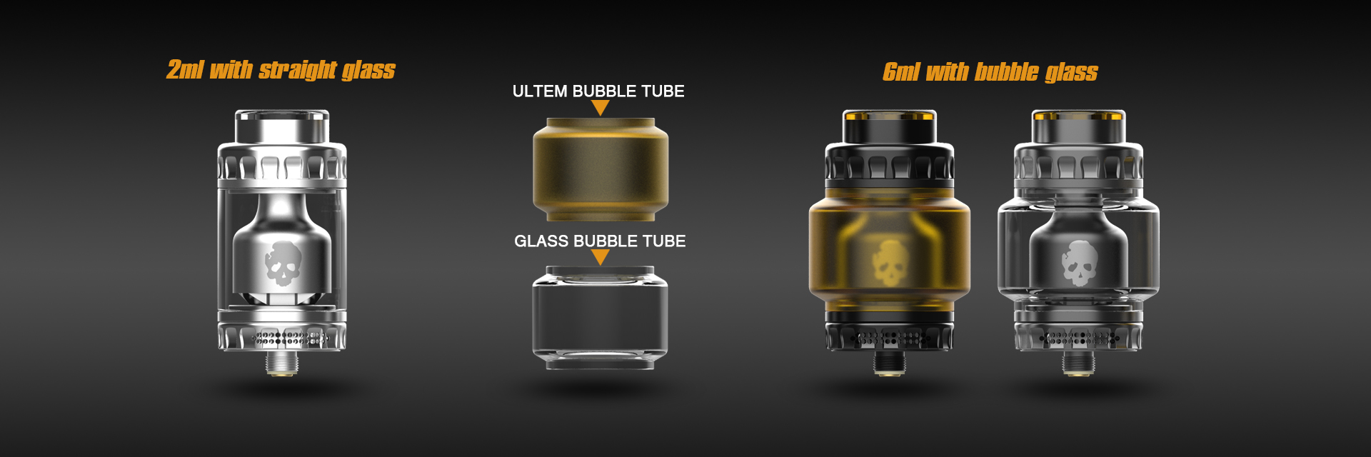 Blotto RTA with Bubble Glass